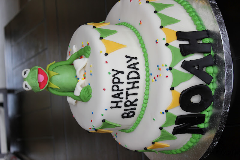 Luscious Confections Kermit The Frog Cake